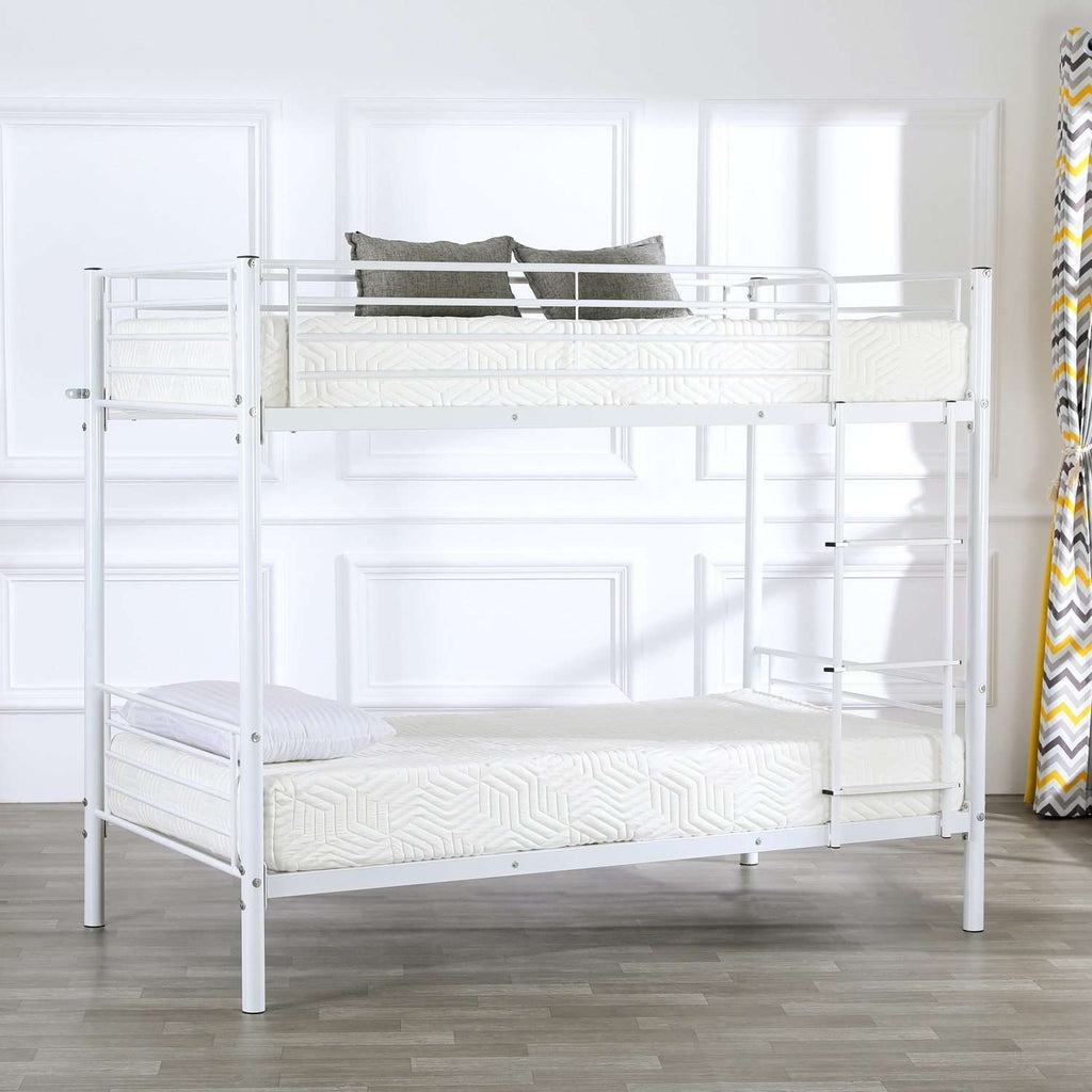 Twin Size Black with Rubber Pad Ladder Bed - Nyrod- Nyrod