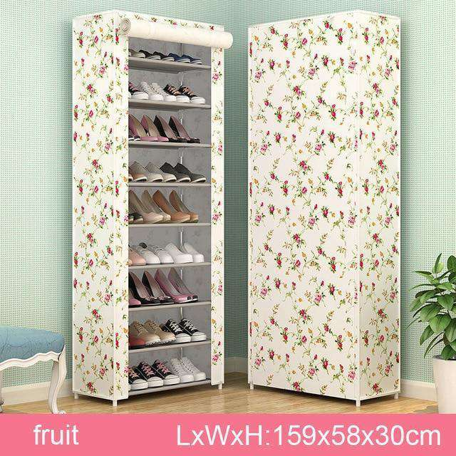 Multi Layers Nonwoven Fabric Shoe Rack - Nyrod- Nyrod
