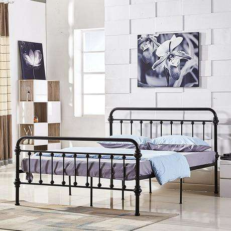 Home Furniture Iron Single/double Bed - Nyrod- Nyrod
