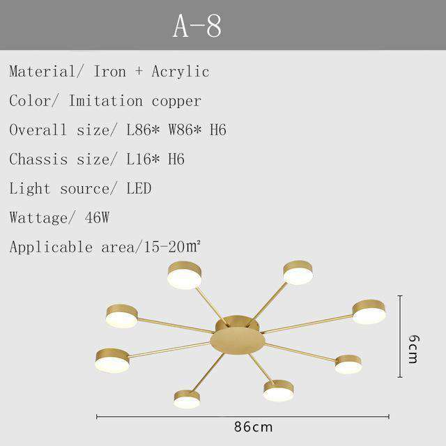 Modern Led Ceiling Lamp - Nyrod- Nyrod
