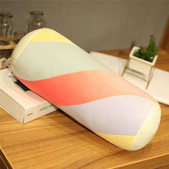 Rainbow Cotton Candy Cartoon Pillow - Nyrod- Nyrod