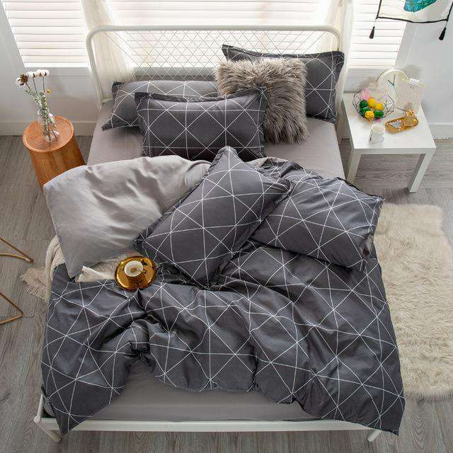 High Quality 3/4pcs Bedding Set - Nyrod- Nyrod