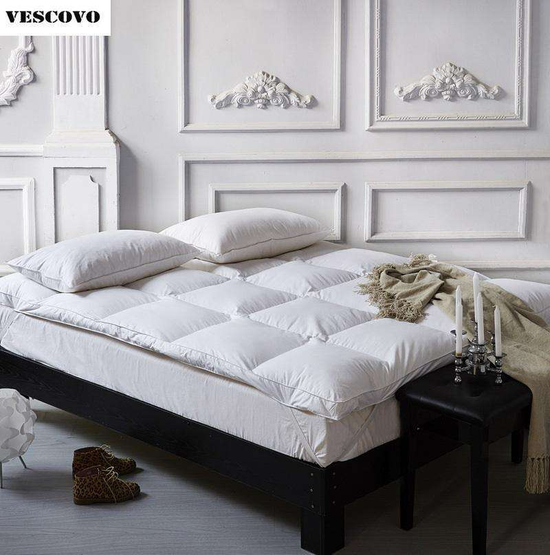 Thickness Duck Feather Bed Mattress - Nyrod- Nyrod