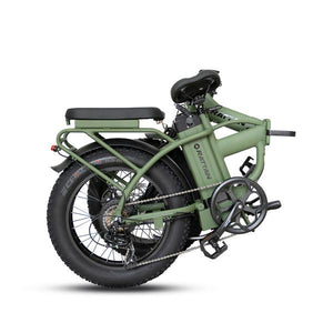 Rattan LM 750W Motor 48V 13AH Battery Fat Tire Foldable Electric Bike