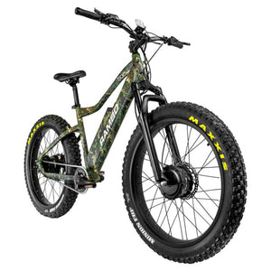 Rambo Krusader 500Watt Motor All Wheel Drive 14Ah Battery Electric Hunting Bike