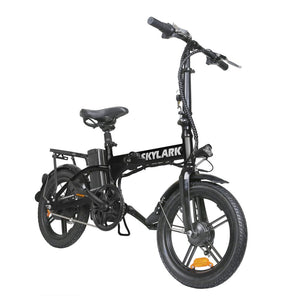 Nakto Skylark Folding Electric Bicycle 36V 10Ah Lithium Battery 16''