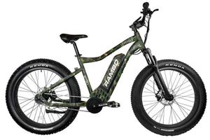 Rambo Roamer 750Watt Mid Drive Motor 14Ah Battery Fat Tire Electric Hunting Bike