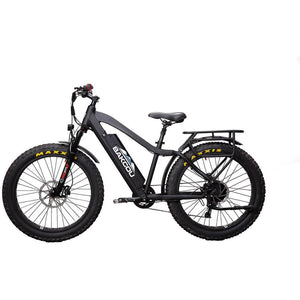 Bakcou Flatlander Hunting Ebike Fat Tire Electric Mountain Bike 750W