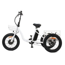 Load image into Gallery viewer, Eunorau New Trike 48V 500W 20'' Step Through Fat Tire Folding Electric Tricycle