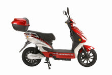 Load image into Gallery viewer, X-Treme Cabo Moped Cruiser Electric Scooter with Seat 48V 500W Ebike w/ Pedals