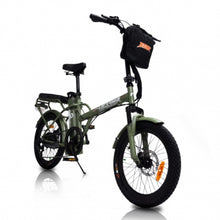 Load image into Gallery viewer, Green Bike Electric Jager Dune 2 Seater Commuter Ebike Bicycle