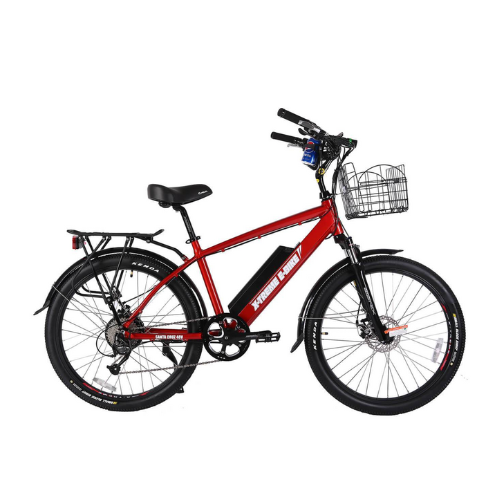 X-Treme Laguna Beach Cruiser 48 Volt 500W Electric Bicycle