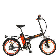 "Load image into Gallery viewer, Green Bike Electric Alpha Speed Folding Ebike 20"" Wheel Fold Up Bicycle"