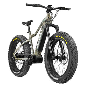 Rambo Venom Bafang 1000 Watts Ultra Mid Drive Motor 48v 17ah Battery Fat Tire Electric Hunting Bike