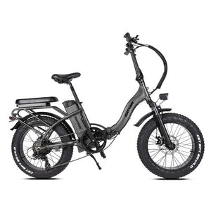 Rattan LF 750W Motor 48V 13AH Battery Fat Tire Foldable Electric Bike