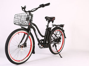 X-Treme Malibu Elite Max 36 Volt Beach Cruiser Electric Bike