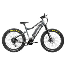 Load image into Gallery viewer, Rambo Nomad 750Watt Mid Drive Motor Western Camo 14Ah Battery Fat Tire Electric Hunting Bike