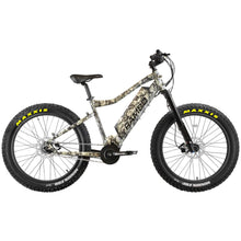 Load image into Gallery viewer, Rambo Bushwacker 750Watt Mid Drive Motor 14ah Battery Fat Tire Electric Hunting Bike