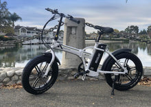 Load image into Gallery viewer, Emojo Lynx Pro Sport 48V 500W Folding Fat Tire Electric Bike