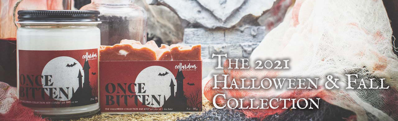 The Cellar Door 2021 Halloween & Fall Collection - Bar Soaps, Soy Candles