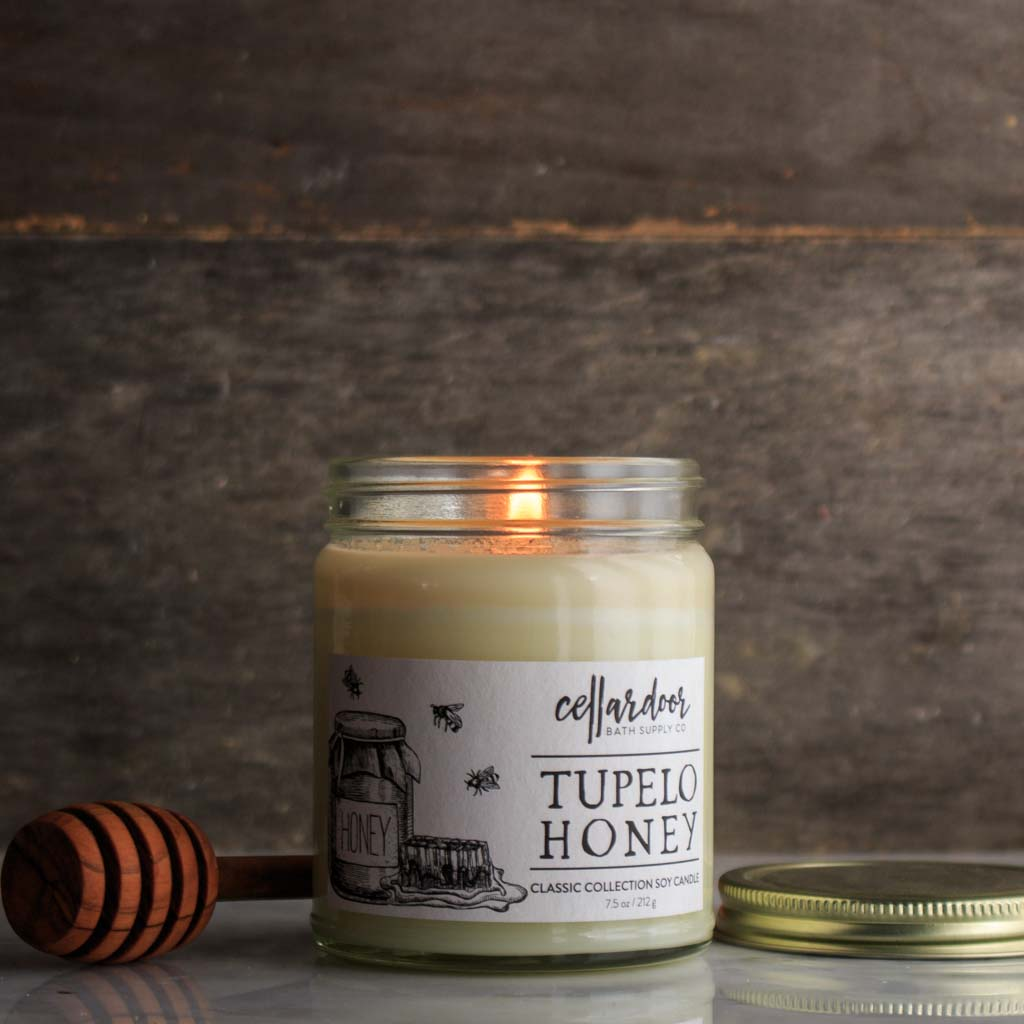 Tupelo Honey Soy Candle & Tupelo Honey Soy Candle - Cellar Door Bath Supply Co.