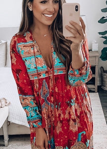 Luna tunic dress