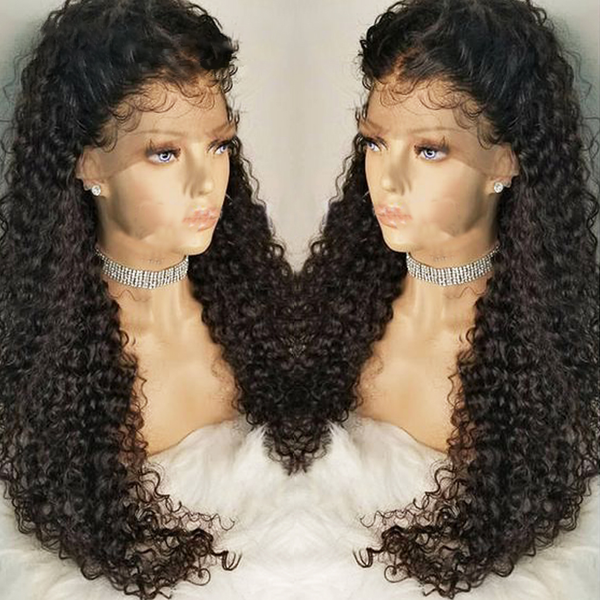 Brazilian Water Wave Wig Lace Front Hair Style Real Hair, Pre-collection Natural Hairline Remy Wig, Modern Show