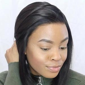 Short Lace Front Wig Pre-Made Fake Scalp-02