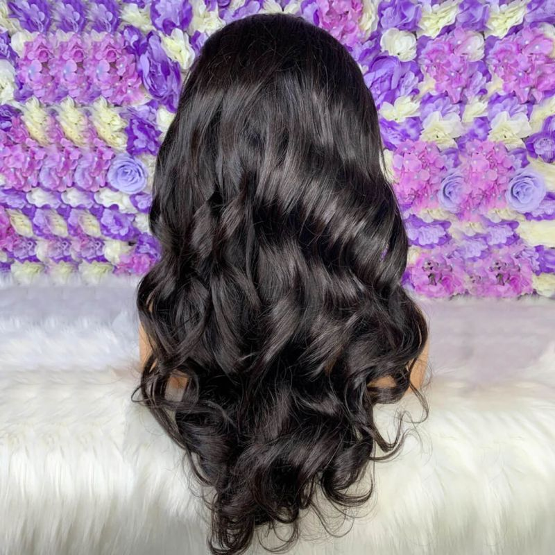 13*4 LACE FRONT BLOW OUT ROYAL WEAVY BEST NATURAL HAIR 150% DENSITY