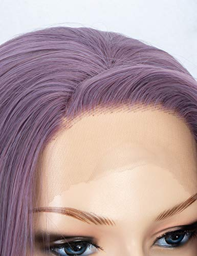 Fashion  Lace Wig Mixed Color Glueless Long Natural Wigs