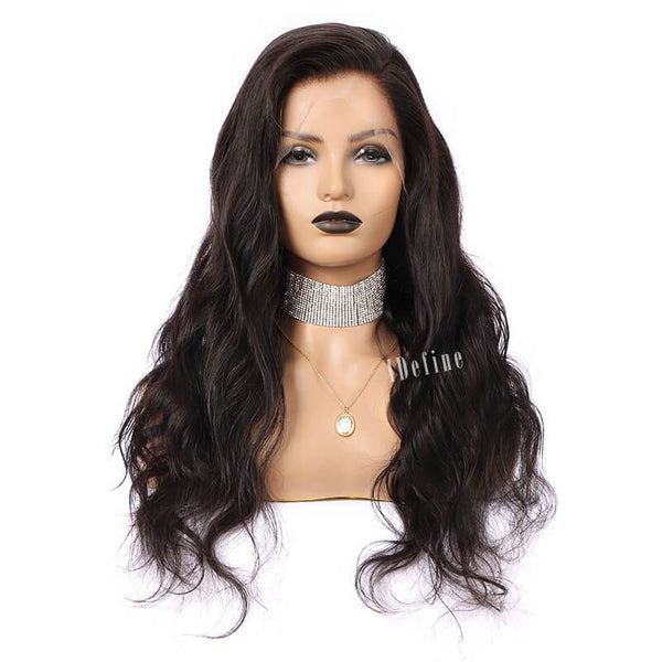PRE-PLUCKED 150% DENSITY 360 LACE FRONTAL WIG BODY WAVE BEST HAIR