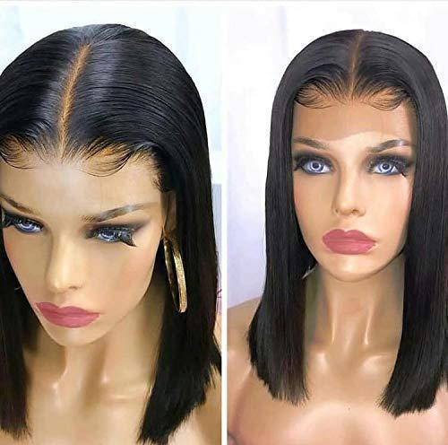 130% Density Short Straight BOB Lace Wig