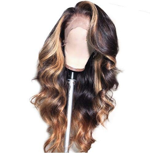 Lace Front Human Hair Wave Wigs Wave Lady Wig