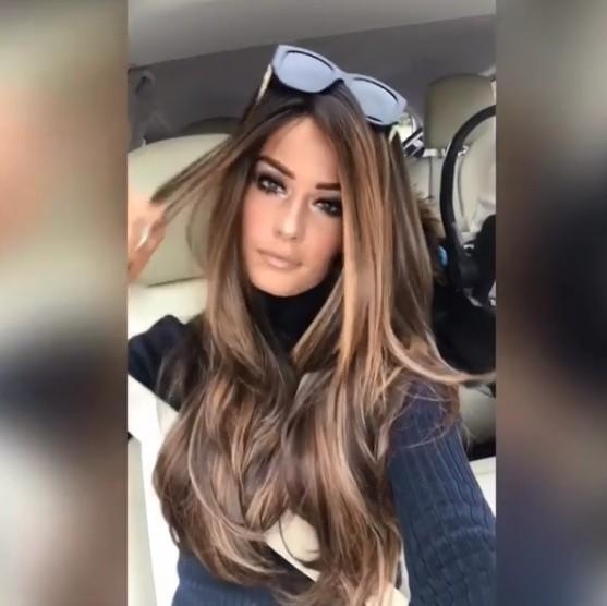 charming brown wig