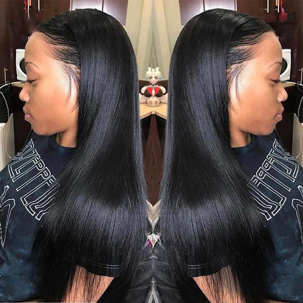 Brazilian Straight human hair lace wig