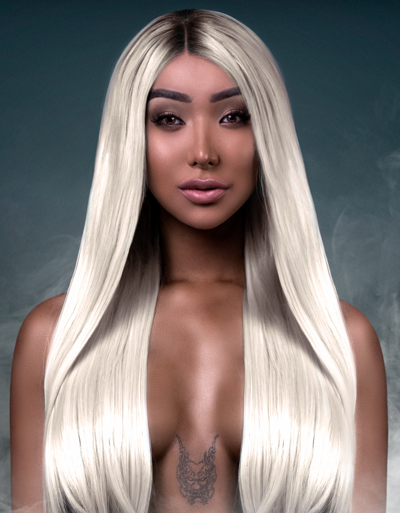 Nikita Dragun Synthetic Wig Khaleesi