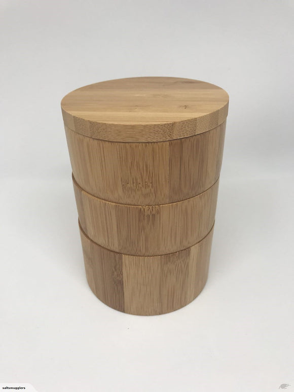 3 Tier Bamboo Pot