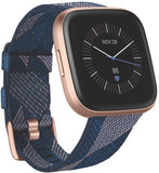 Fitbit Versa 2 Smart Fitness Watch, Woven, Various Colours.