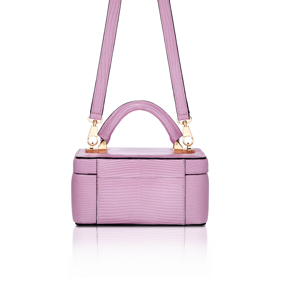 Beauty Case 1.7 Mini - Lilac Lizard