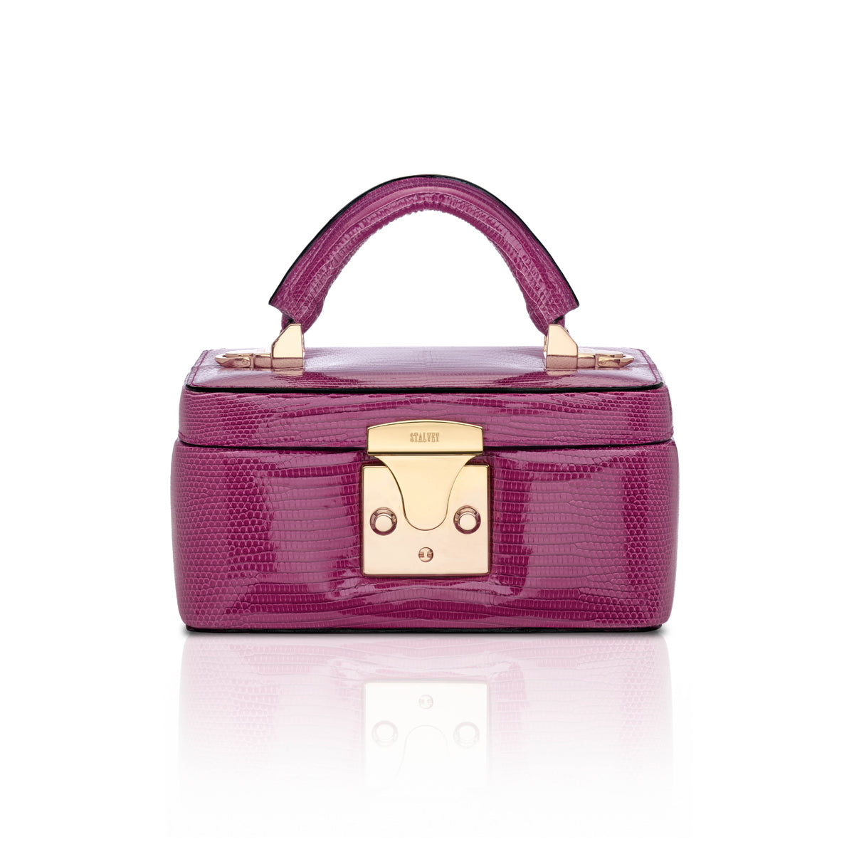 Beauty Case 1.7 Mini - Magenta Lizard