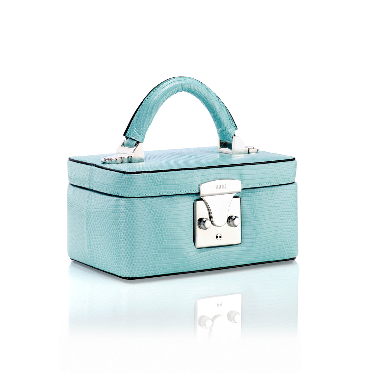 Beauty Case 1.7 Mini - Powder Blue Lizard