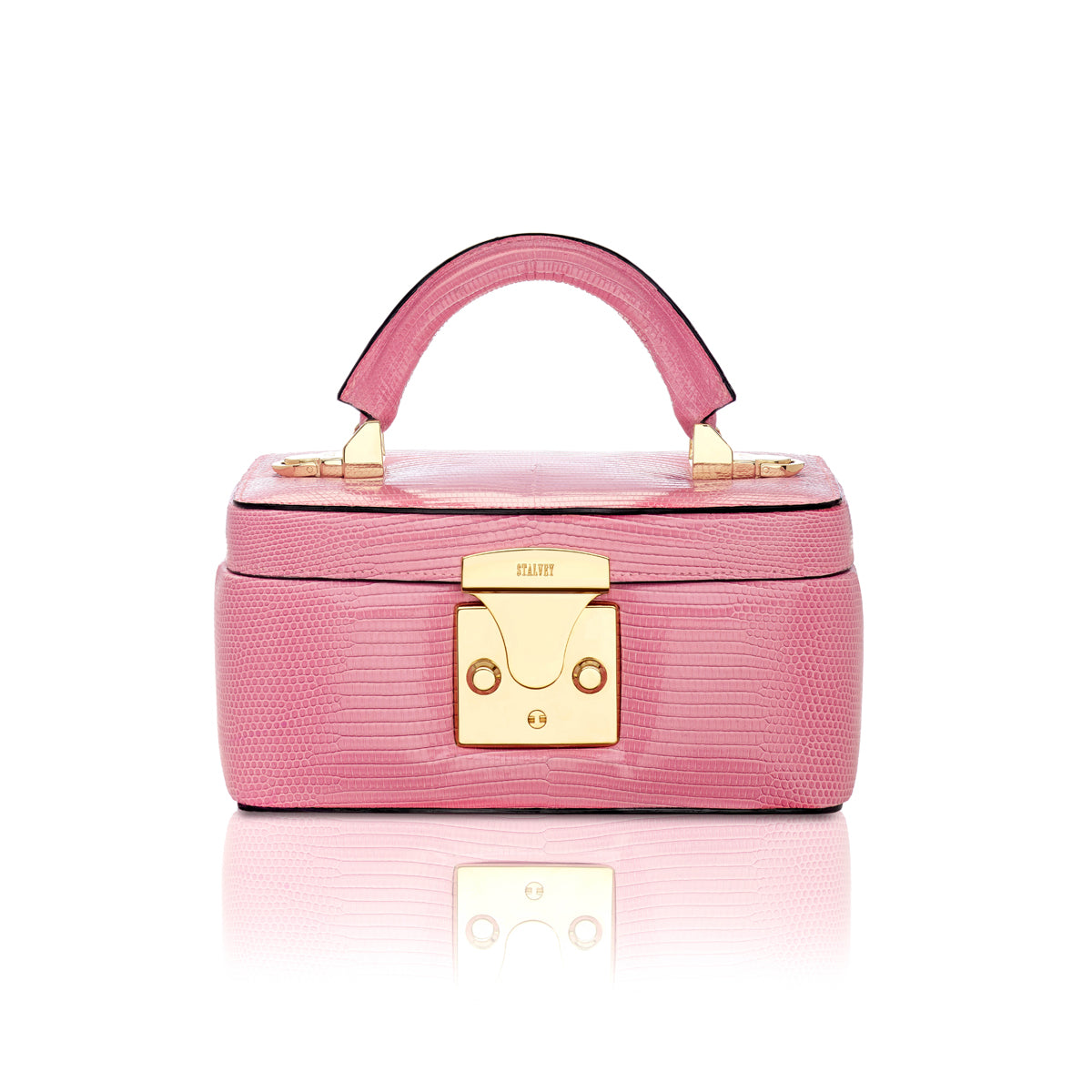 Beauty Case 1.7 Mini - Powder Pink Lizard