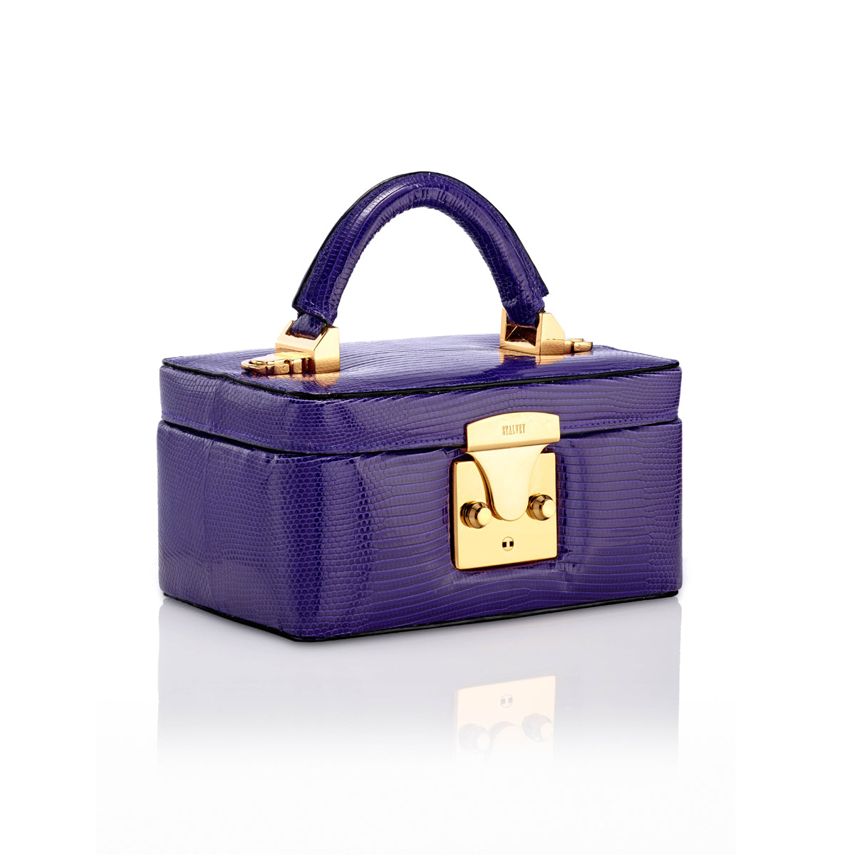 Beauty Case 1.7 Mini - Purple Lizard