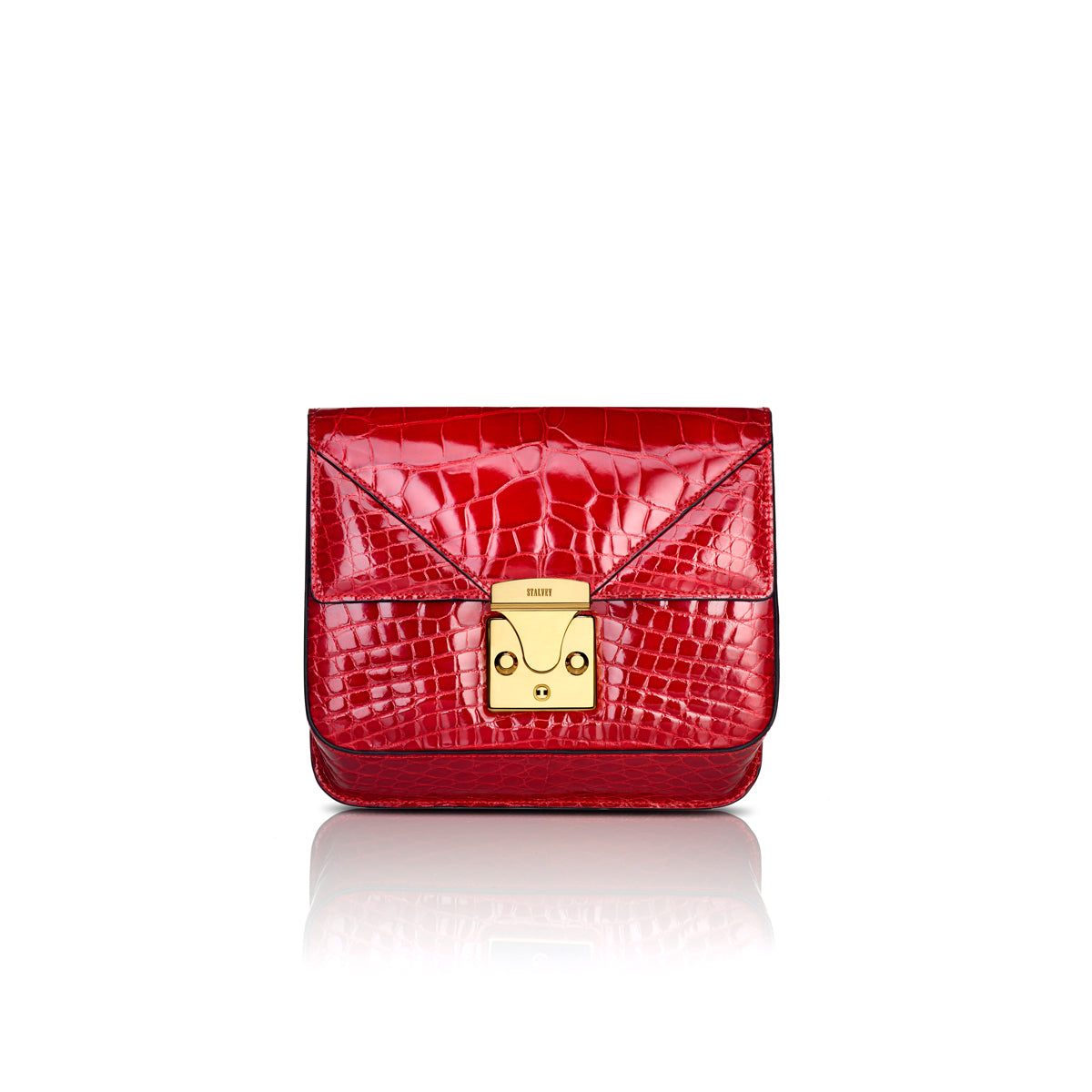 Belt Bag 2.0 - Cerise Alligator
