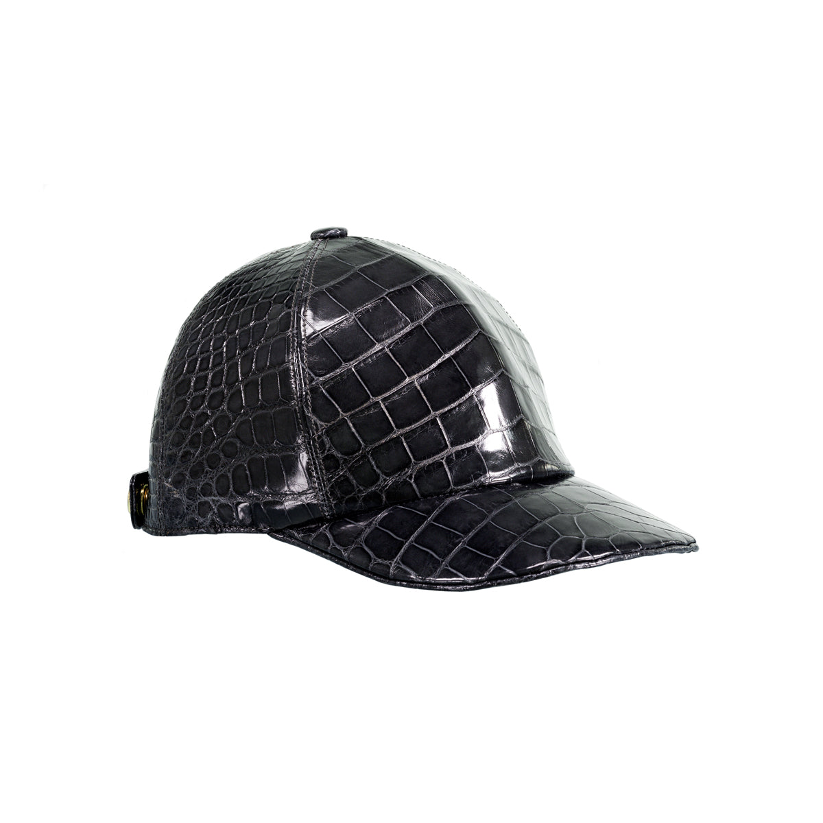The Big Deep Baseball Hat - Black Alligator