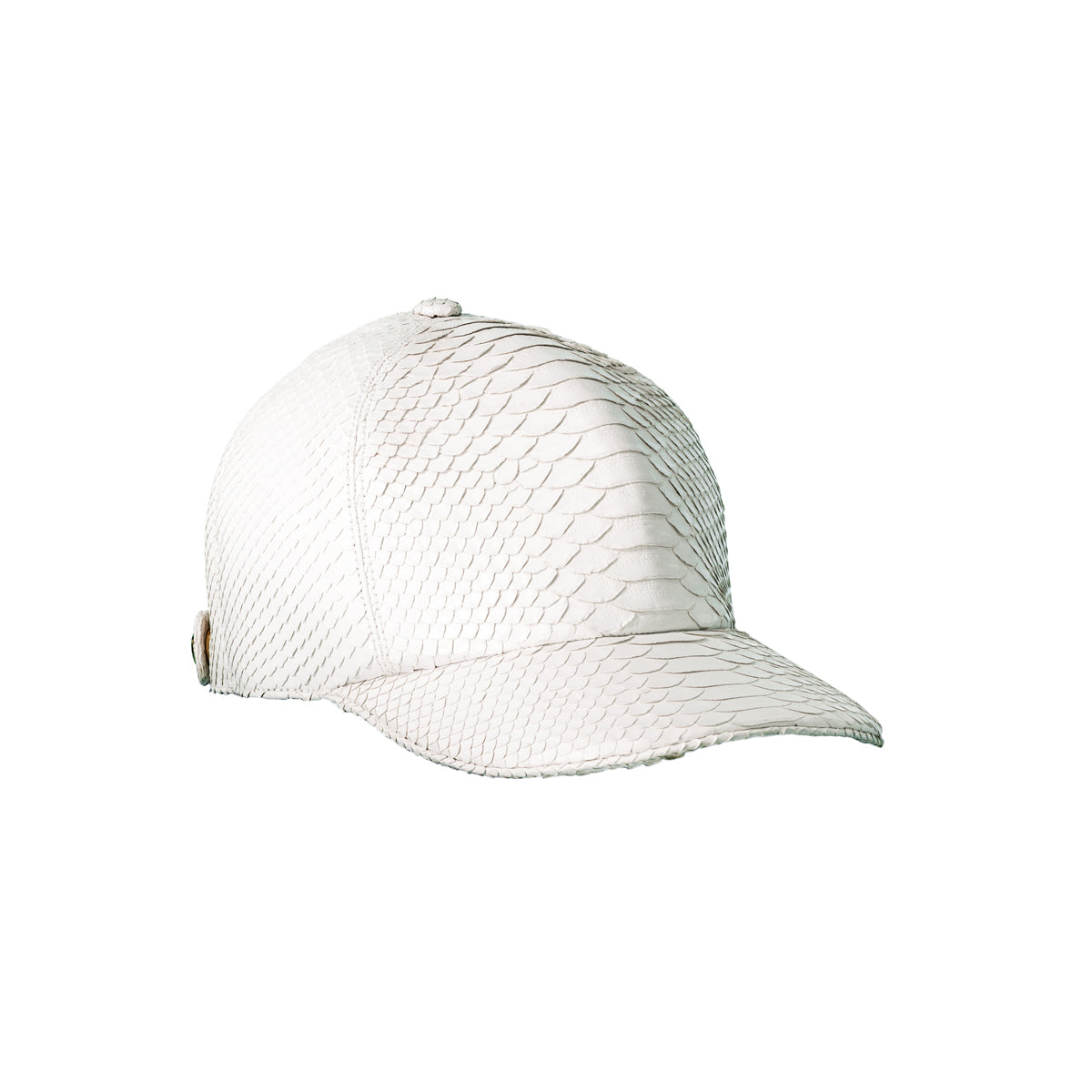 The Big Deep Baseball Hat - White Python