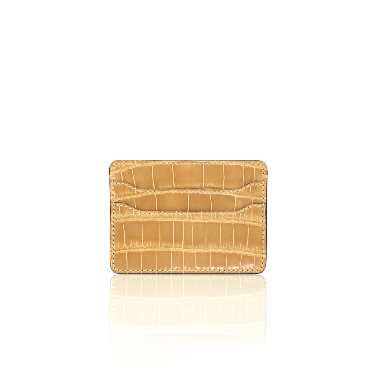 Credit Card Case - Sand Dune Alligator