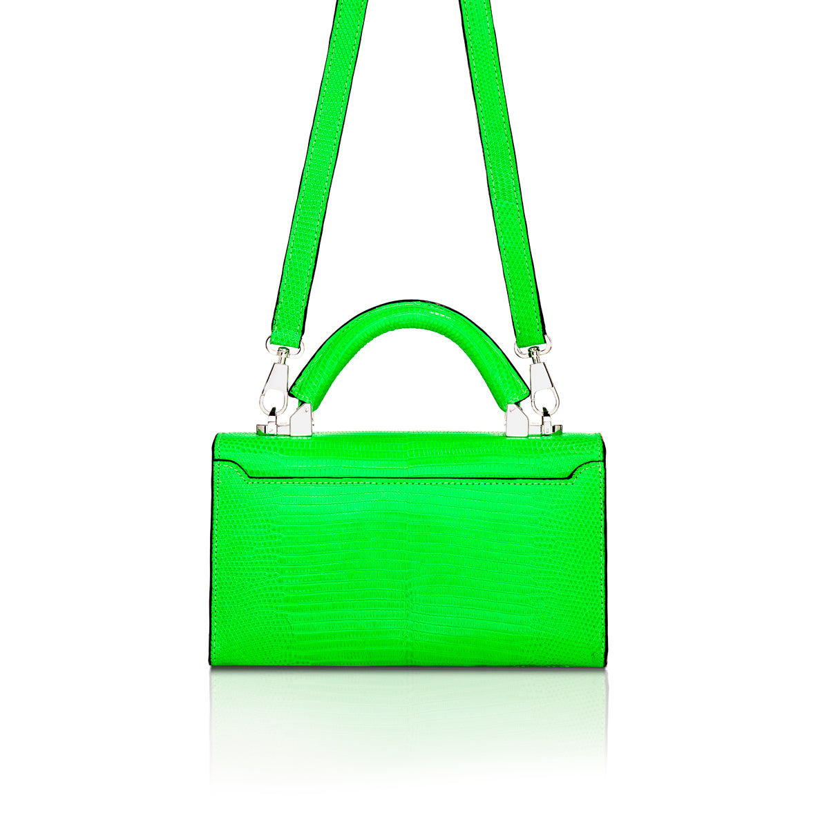 Top Handle 2.0 Mini - Neon Green Lizard