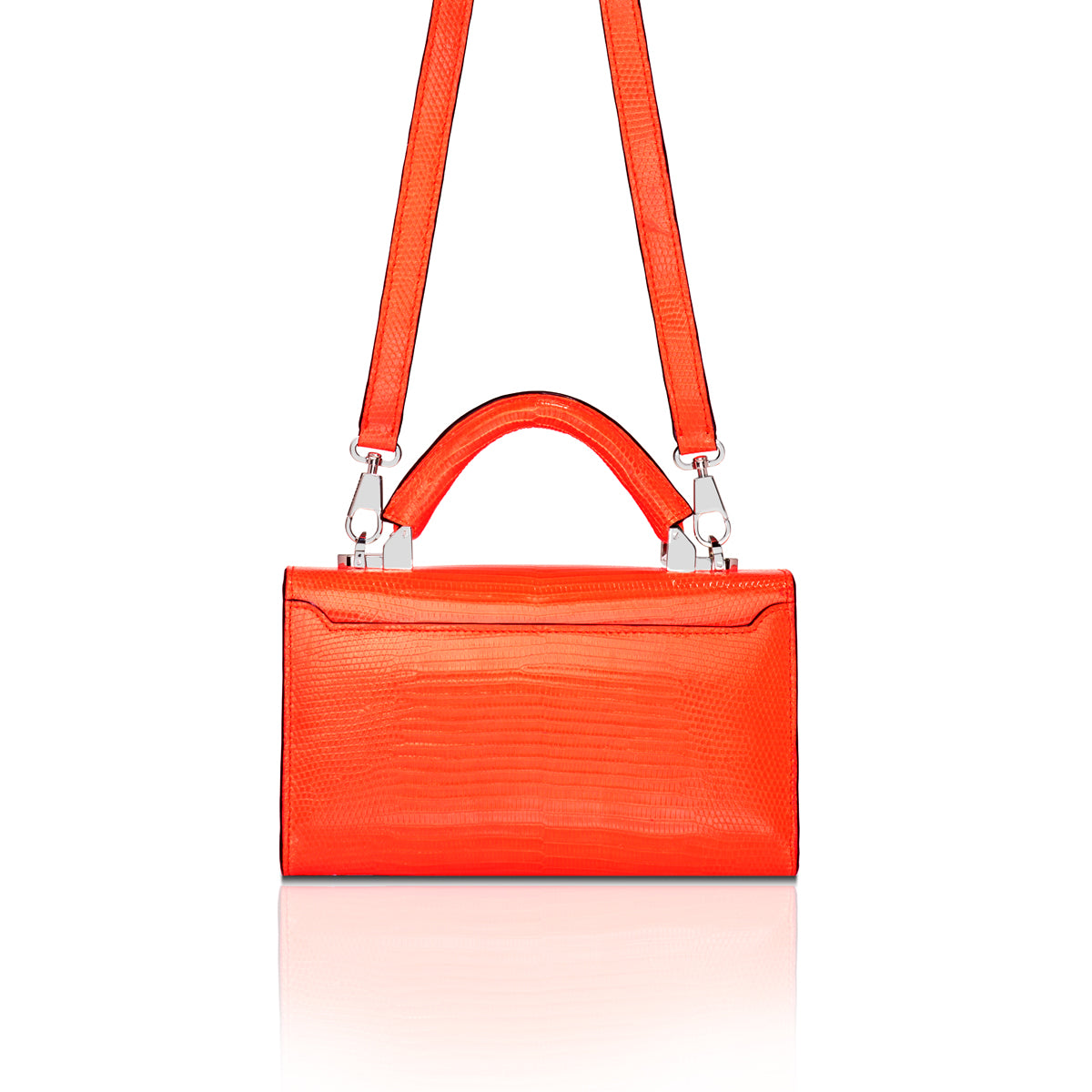 Top Handle 2.0 Mini - Neon Orange Lizard