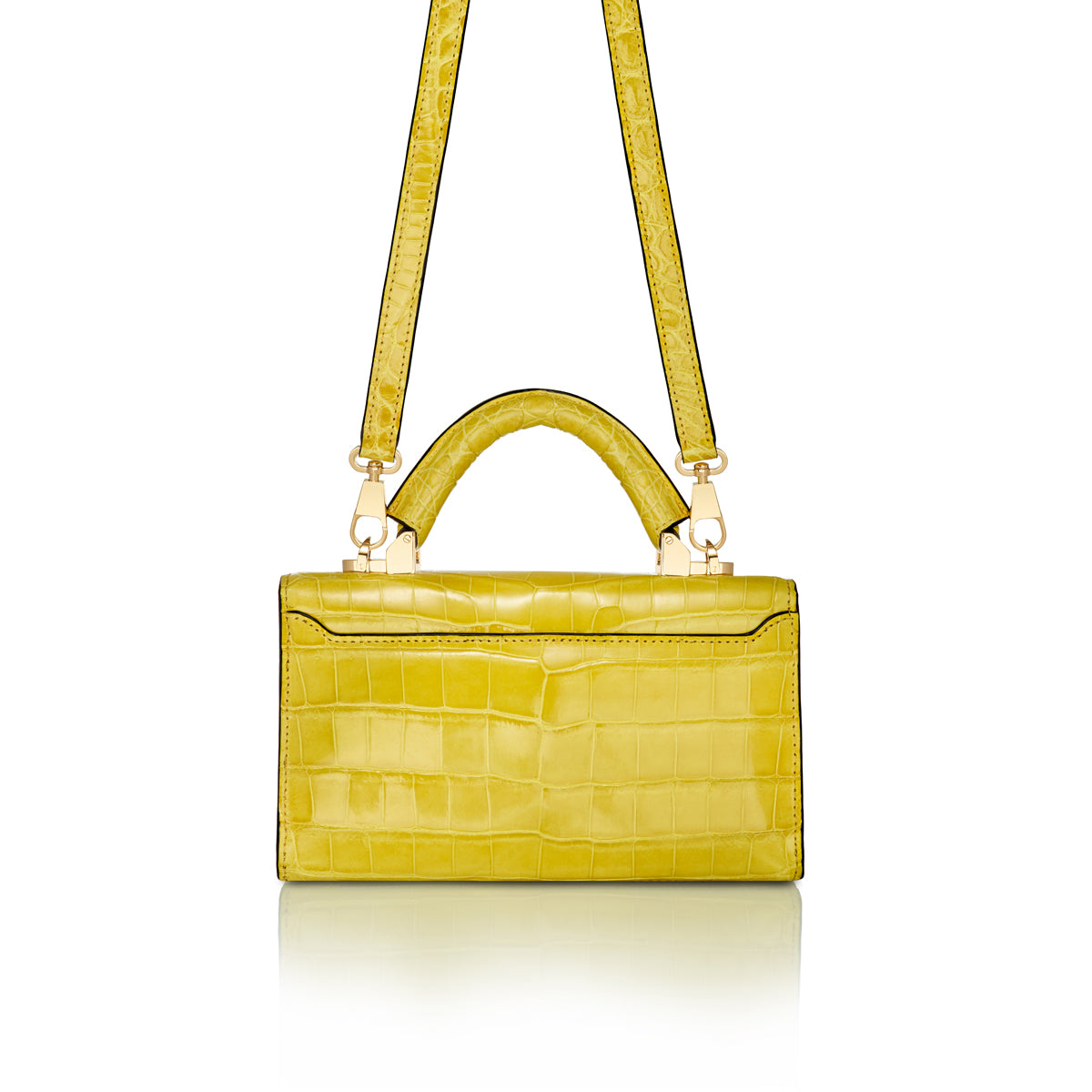 Top Handle 2.0 Mini - Yellow Alligator